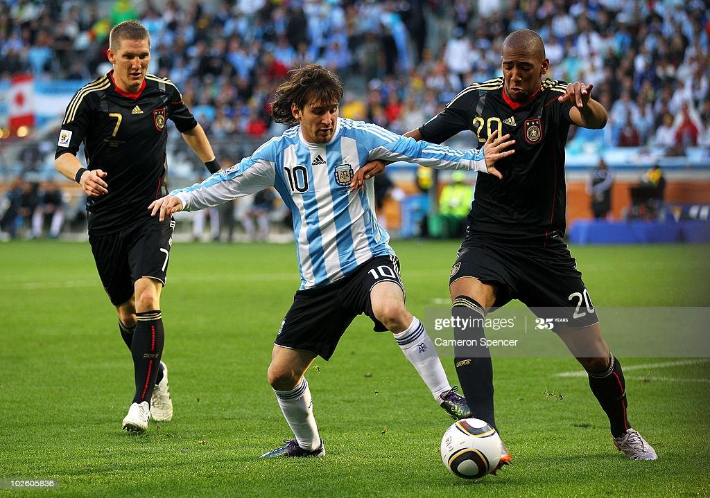 Argentine 0 – 4 Allemagne