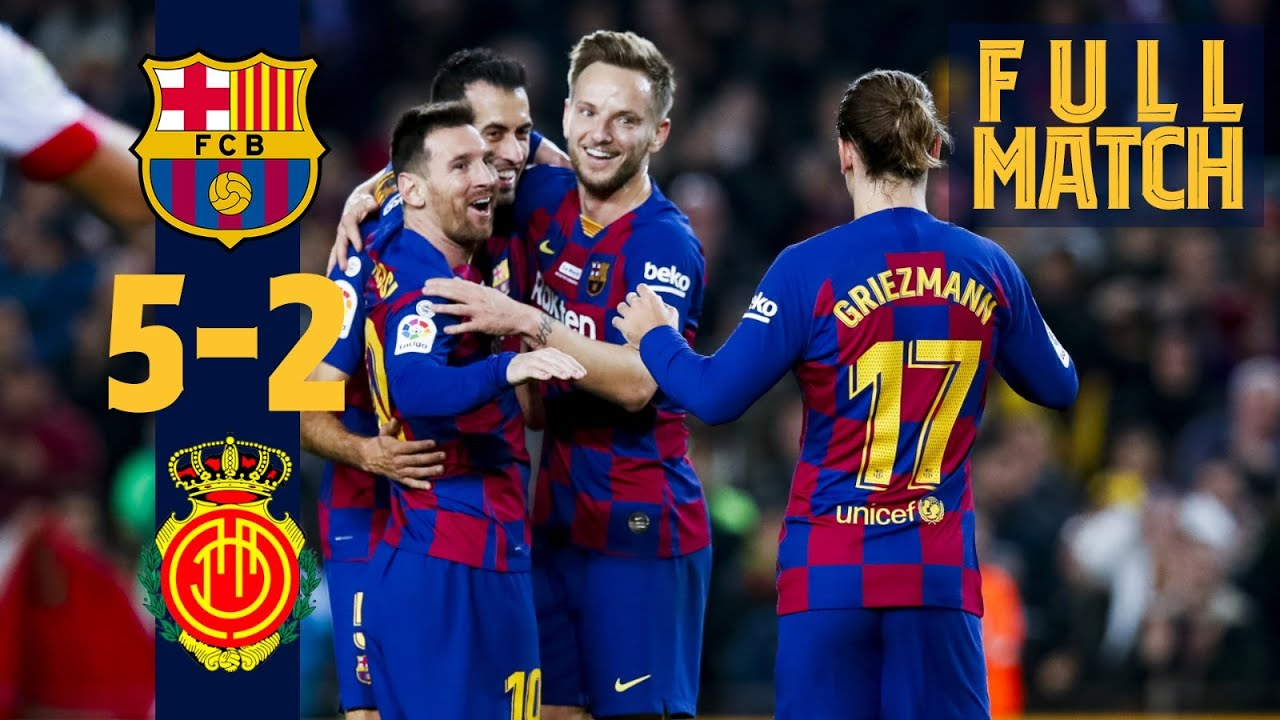 Fc Barcelone – Majorque 2019/2020