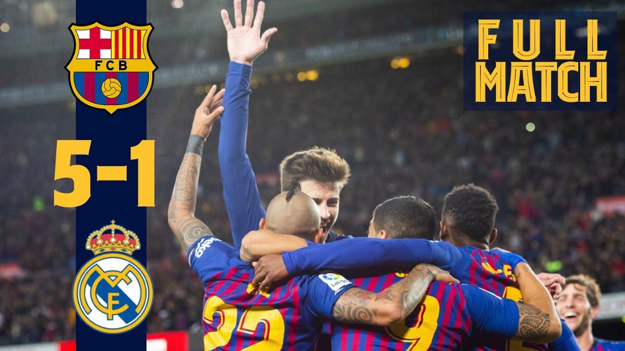Fc Barcelone – Réal Madrid (2018)