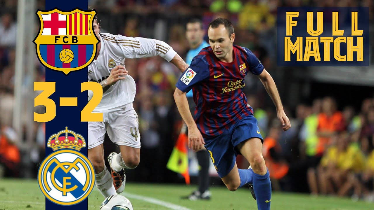 Fc Barcelone – Réal Madrid (2011)