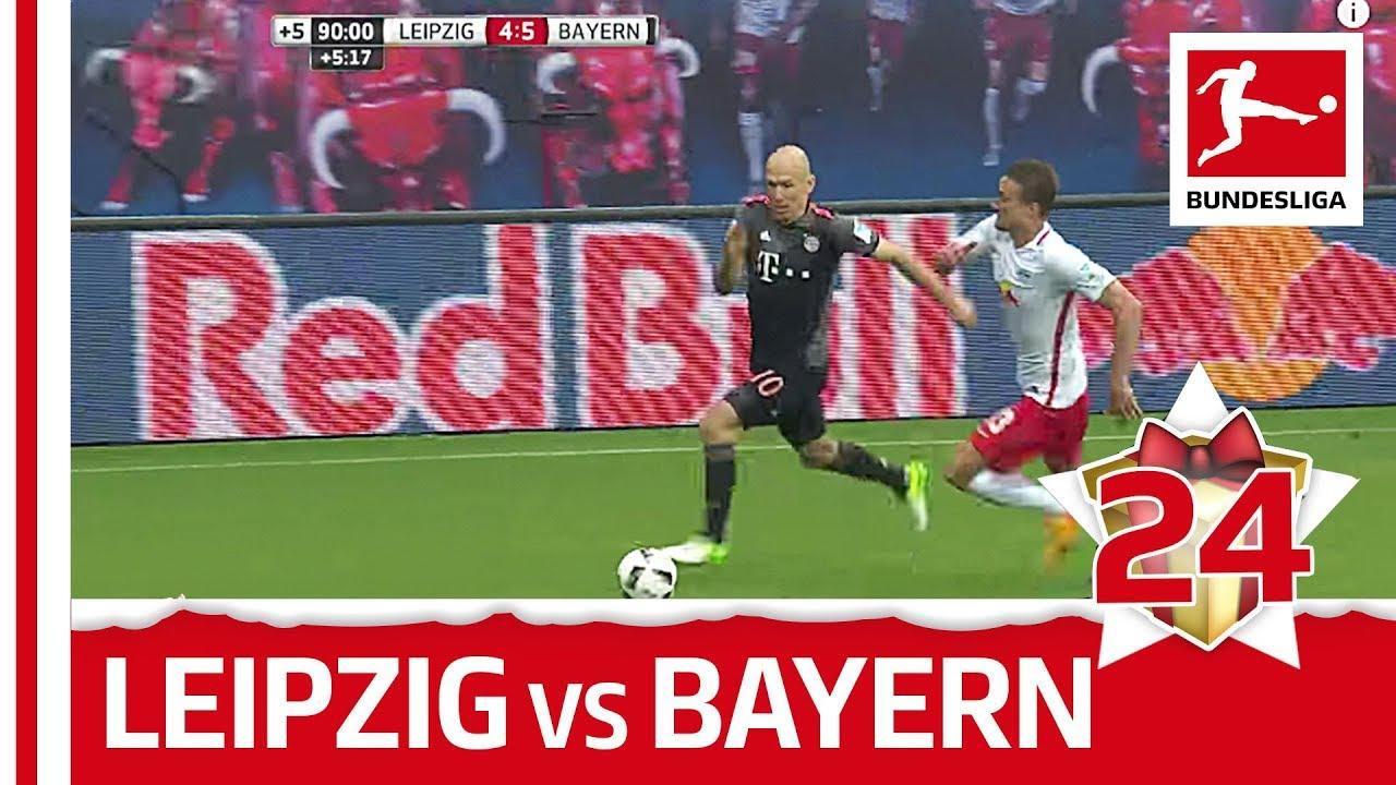 RB Leipzig 4-5 Bayern München (2017)