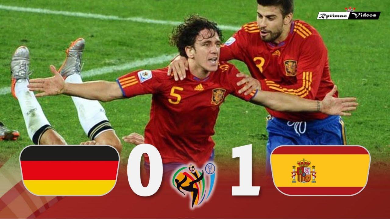 Allemagne 0 – 1 Espagne
