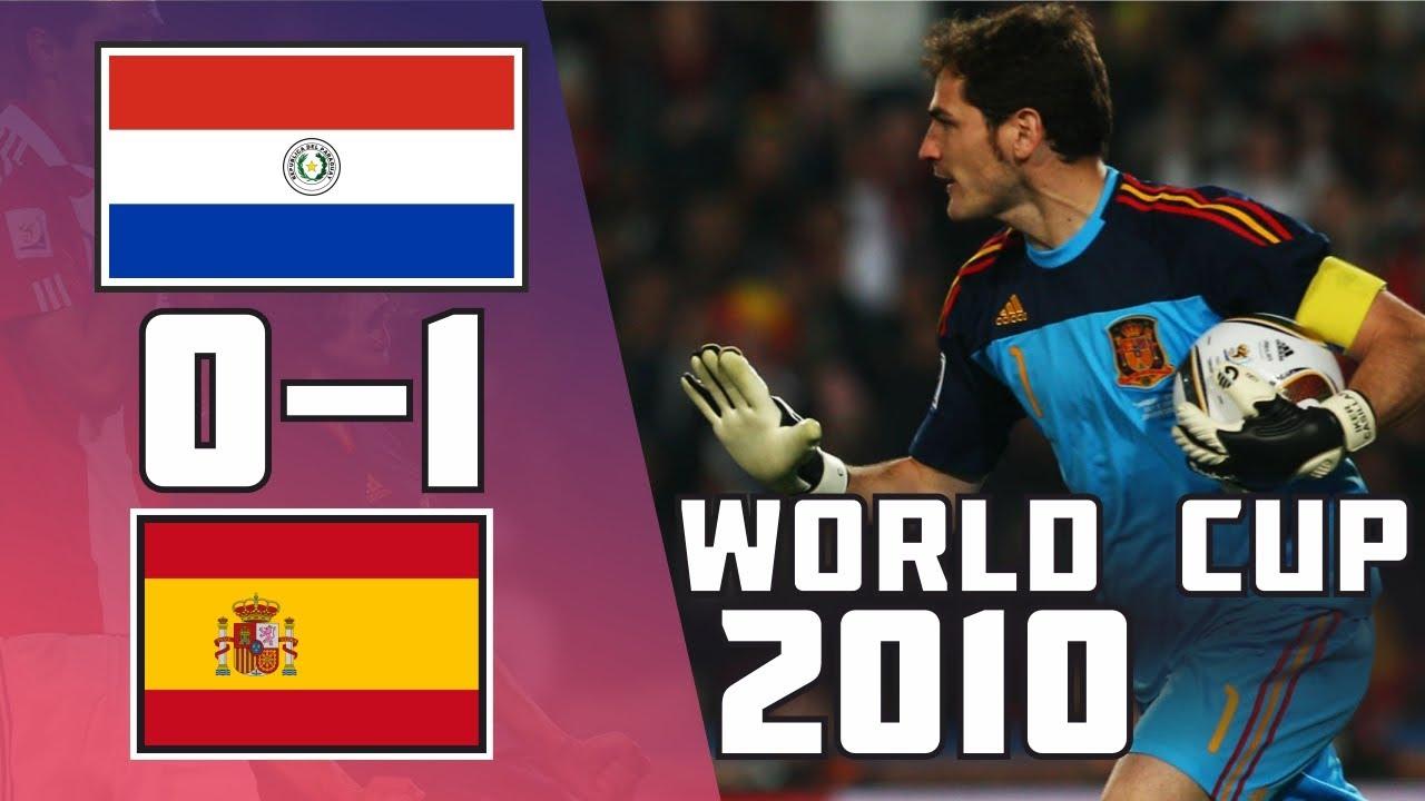 Paraguay 0 – 1 Espagne