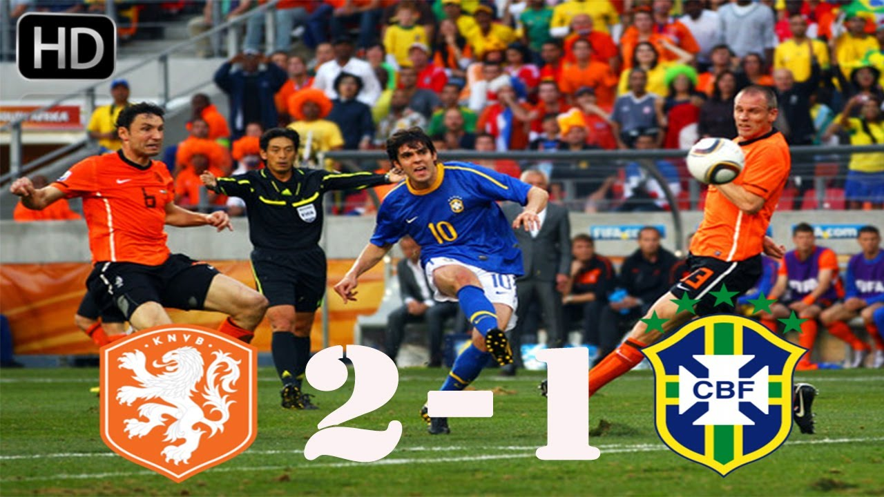 Pays Bas 2 – 1 Brésil