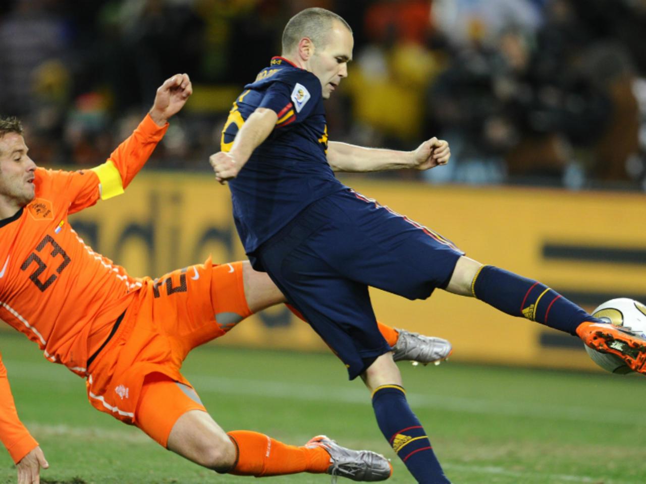 Pays Bas 0 – 1 Espagne Finale