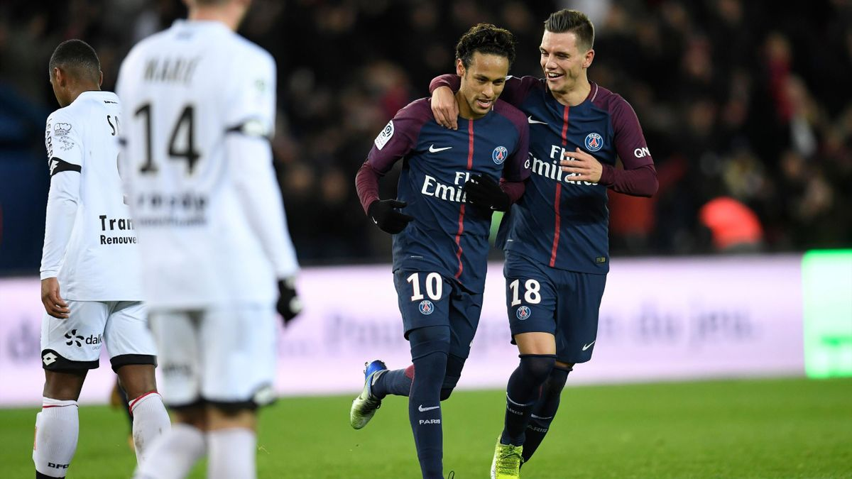 PSG – Dijon (8-0)   2017-2018