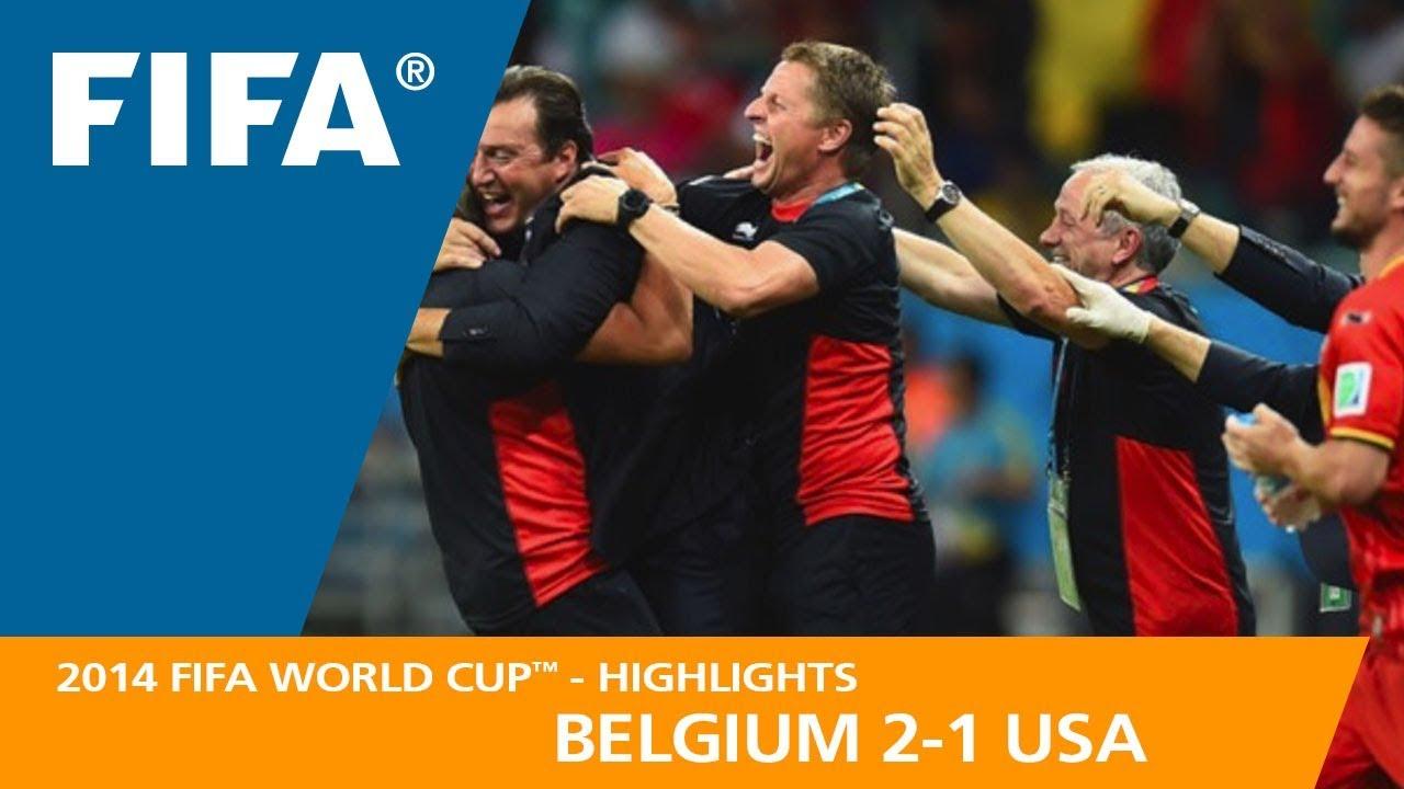 Belgique 2 – 1 USA