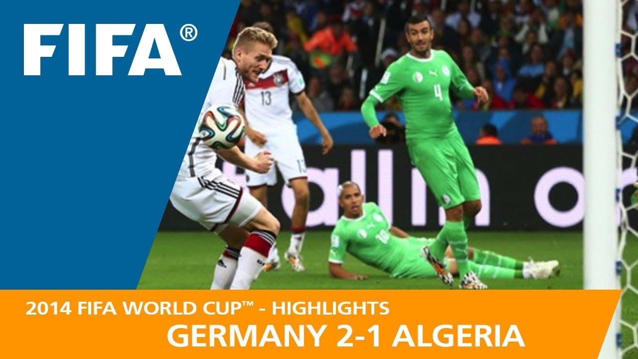 Allemagne 2 – 1 Algérie