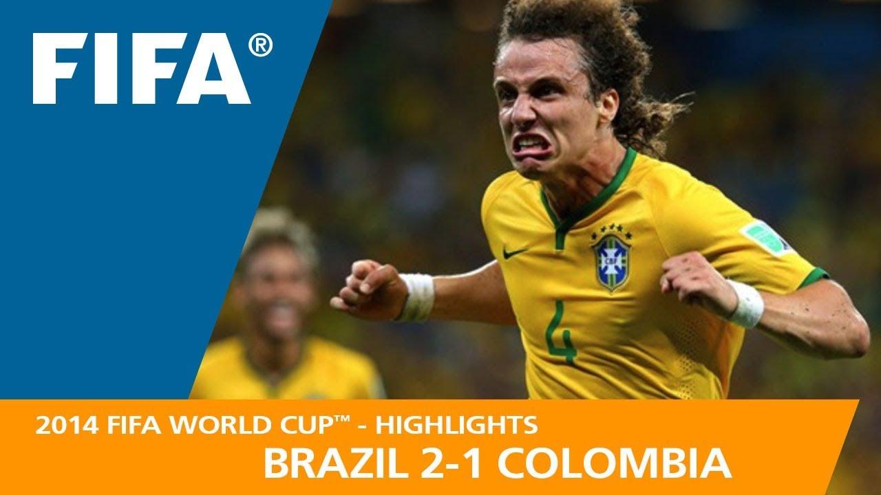 Brésil 2 – 1 Colombie