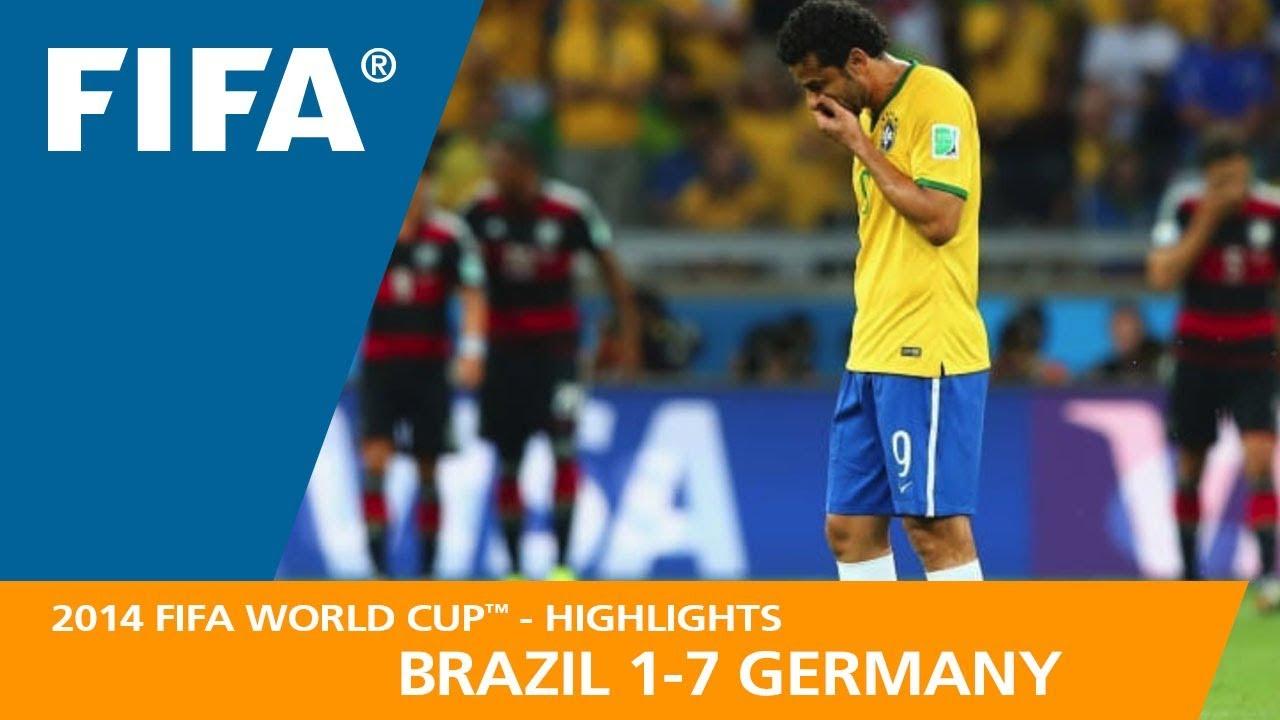 Brésil 1 – 7 Allemagne
