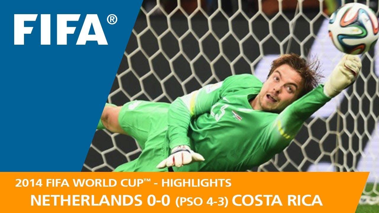 Pays Bas 0 – 0 Costa Rica