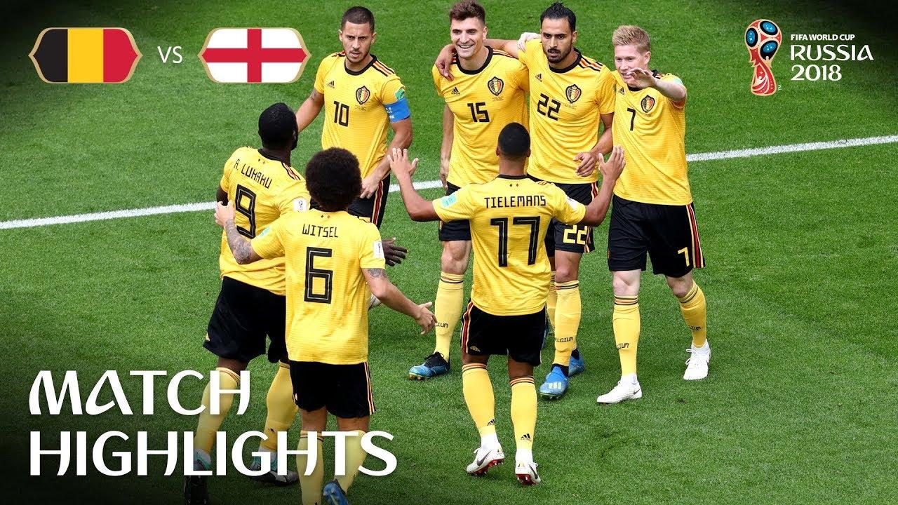 Belgique 2 – 0 Angleterre