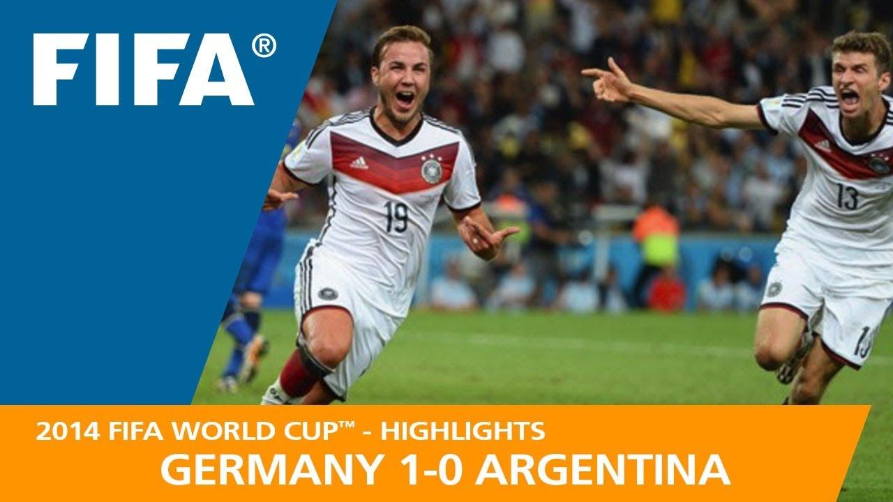 ALLEMAGNE 1 – 0 ARGENTINE ● Finale