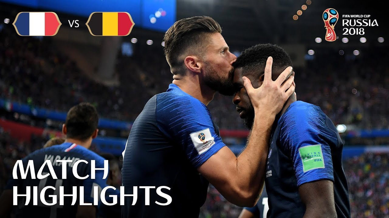 France 1 – 0 Belgique