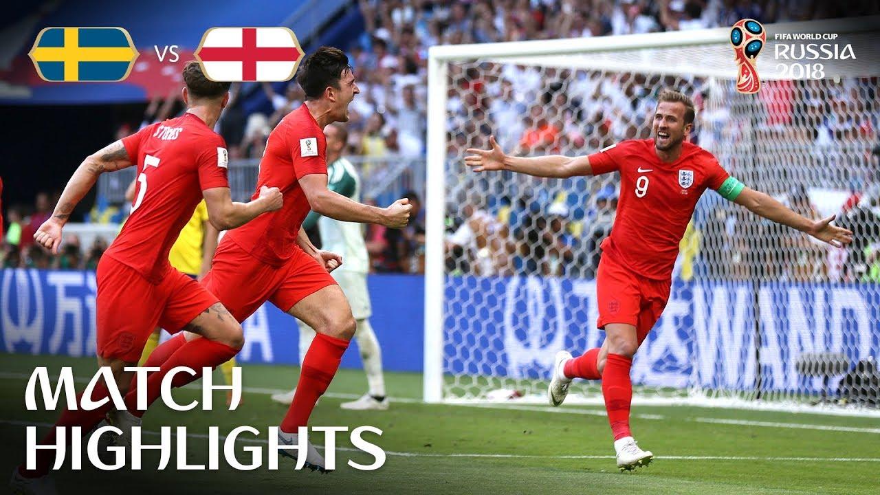 Suède 0 – 2 Angleterre