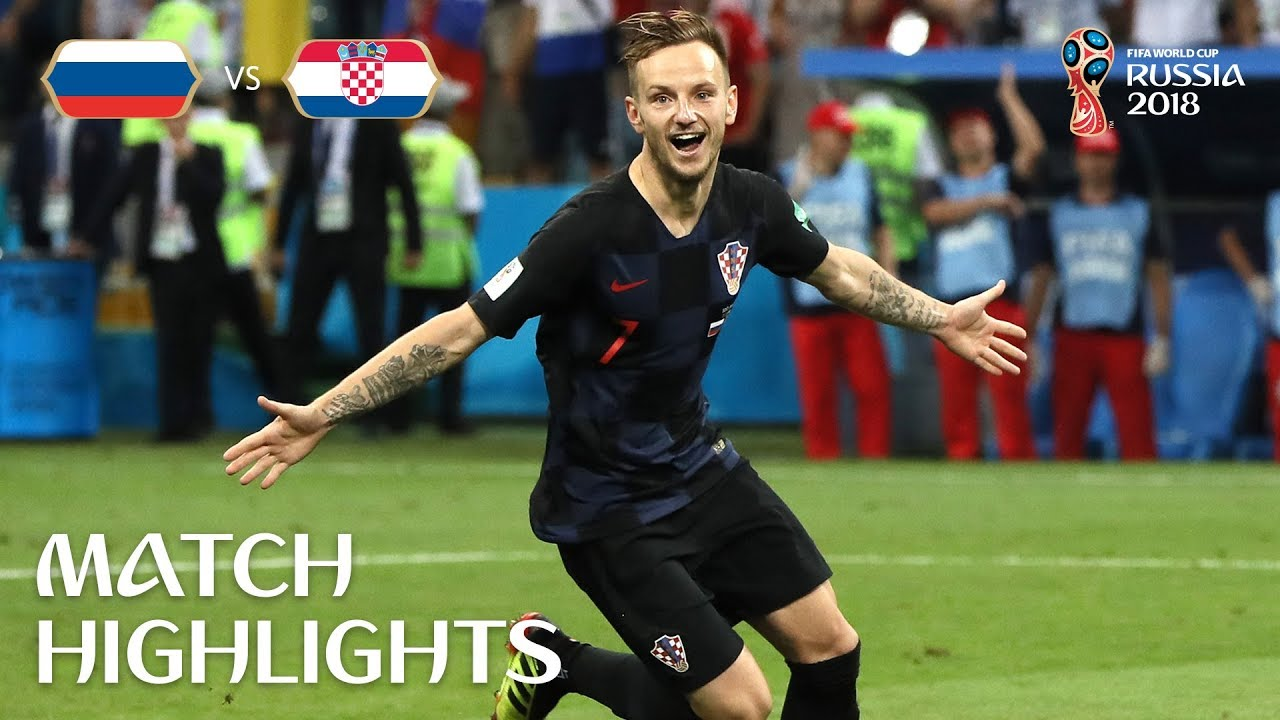 Russie 3 – 4 Croatie
