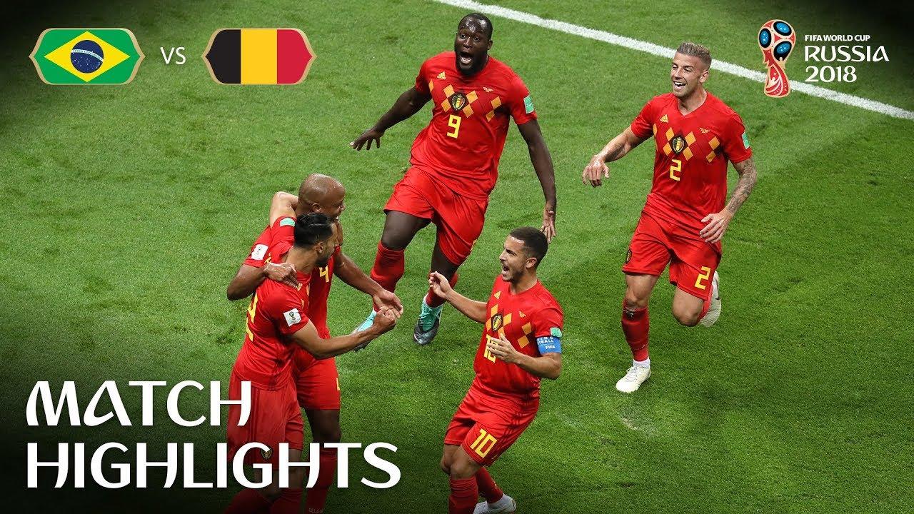 Brésil 1 – 2 Belgique