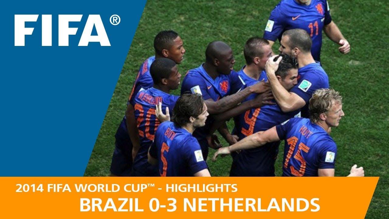 Brésil 0 – 3 Pays Bas