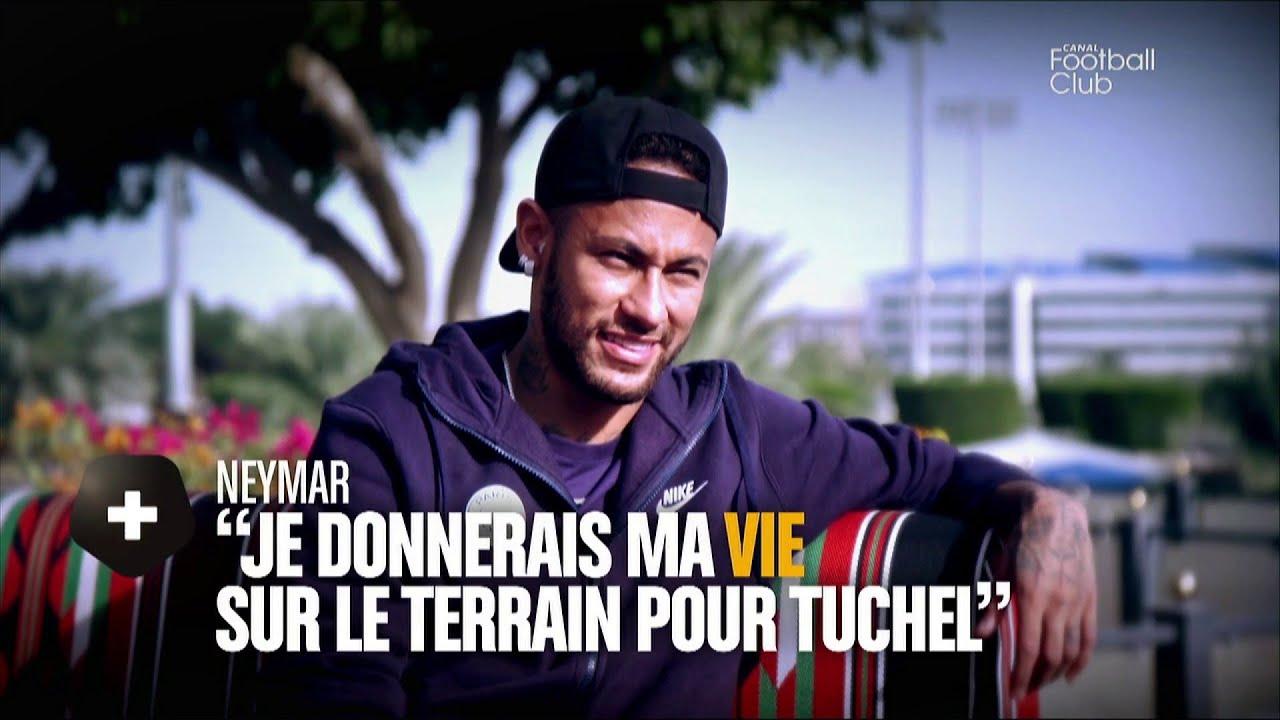 Interview de Neymar